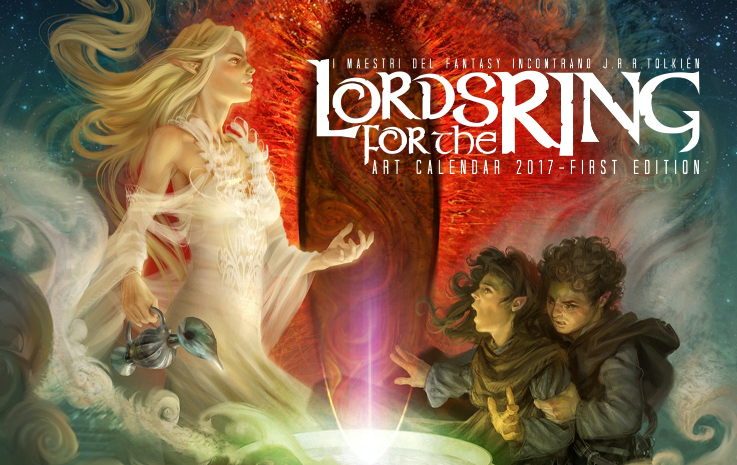 "Calendario 2017 ""Lords for the Ring"""