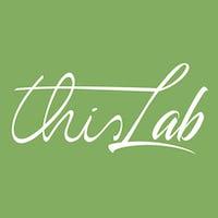 1476112162577075 thislab logo v1 bianco su verde tts