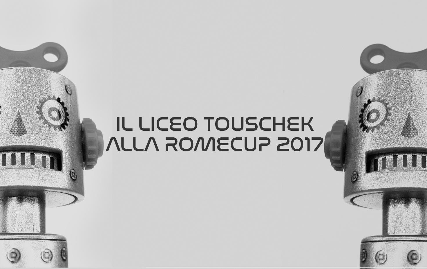 IL LICEO TOUSCHEK ALLA ROMECUP 2017