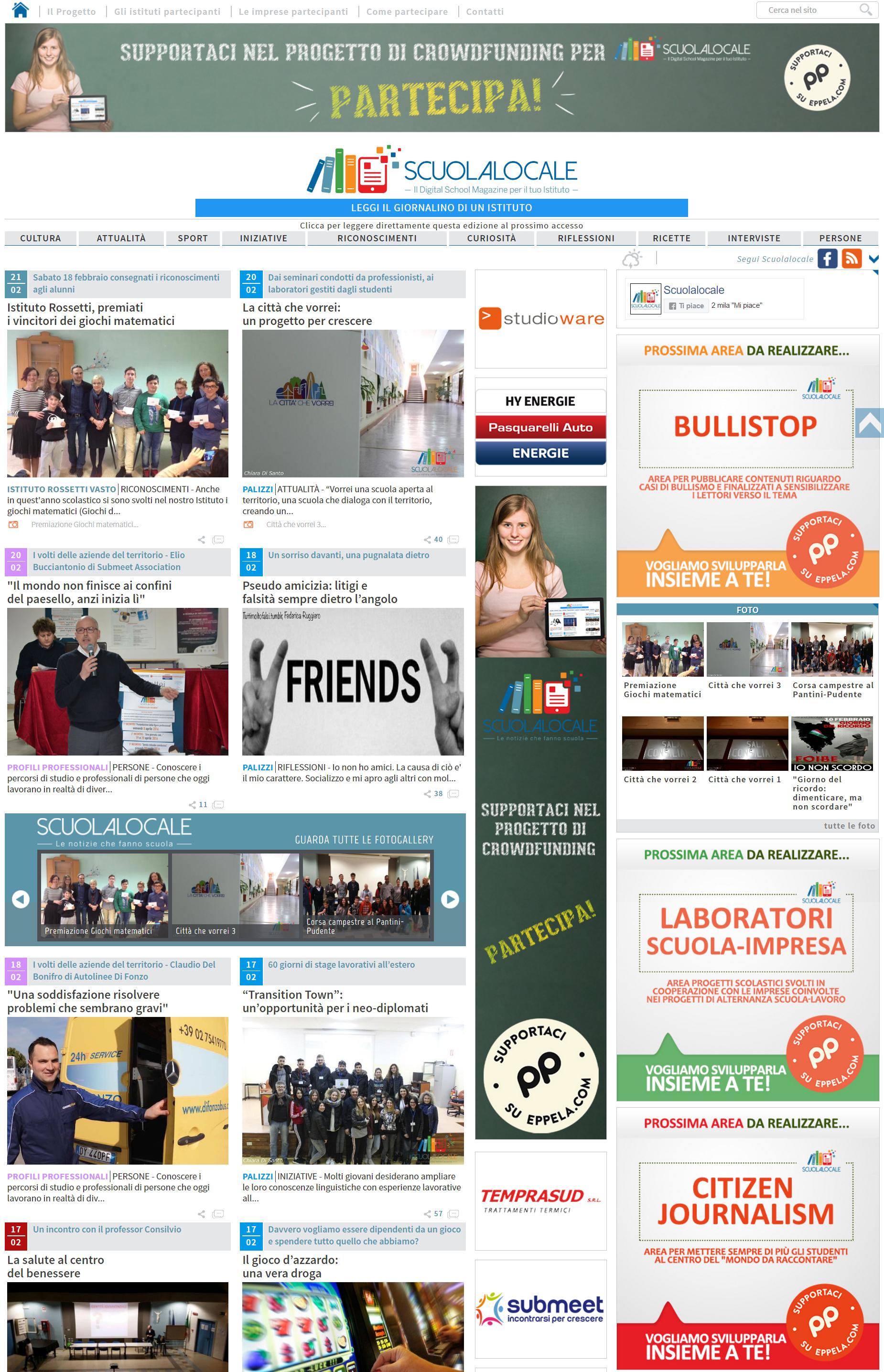 1487662143404627 scuolalocale il digital school magazine per il tuo istituto giornalino scolastico on line