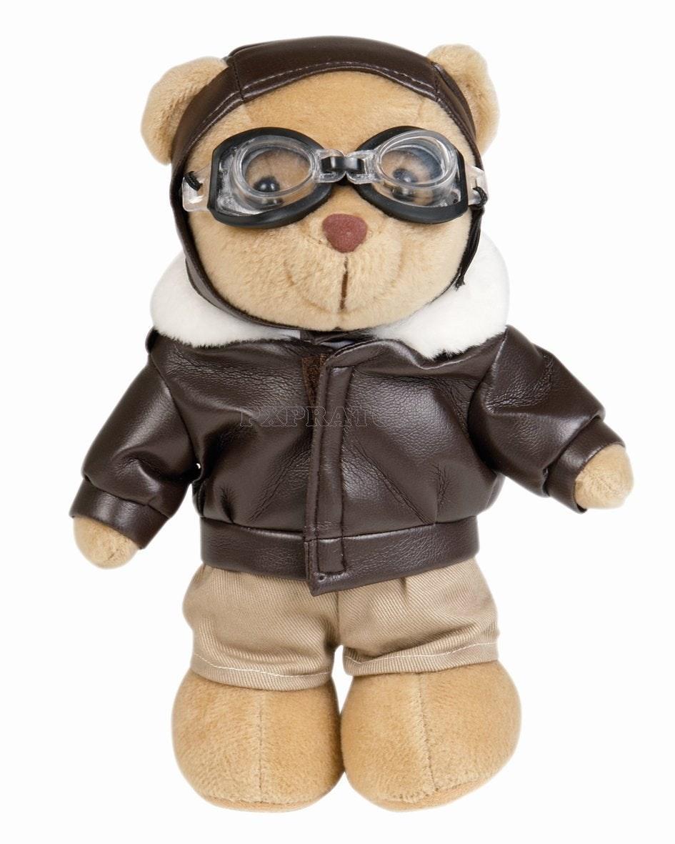 1493370594311573 mil tec orsetto pilota teddy militare altezza 20 cm pupazzo peluche orso orsacchiotto 16429000 2 dettagliata 1