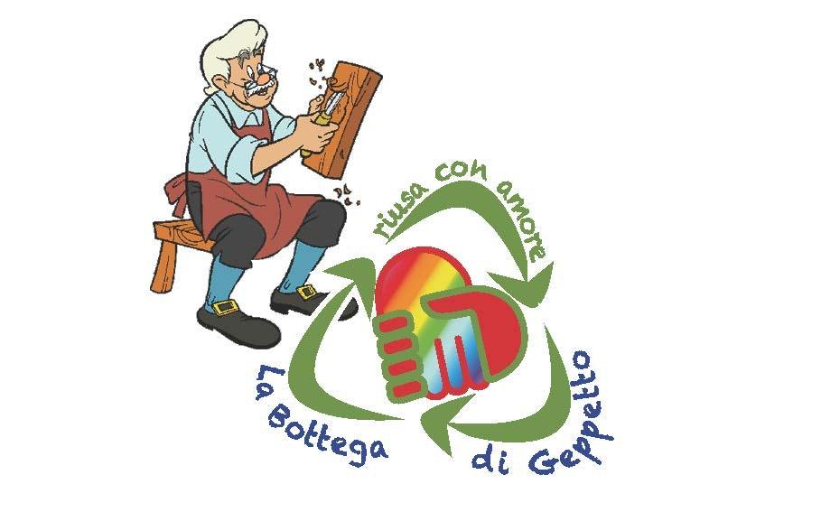 1494104822484753 logo la bottega di geppetto con geppetto