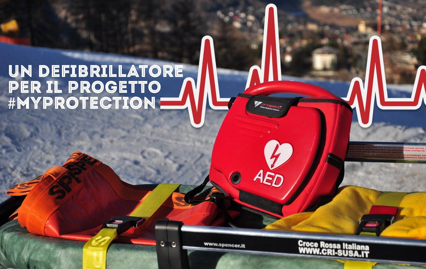 Un Defibrillatore per il progetto #MyProtection