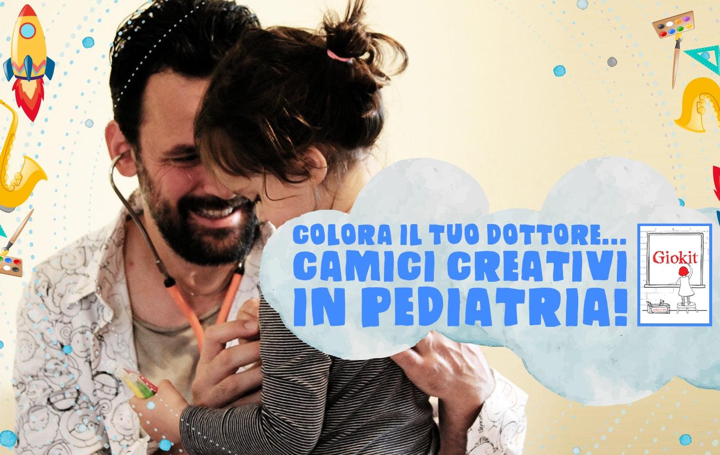 Colora il tuo dottore...camici creativi in pediatria!