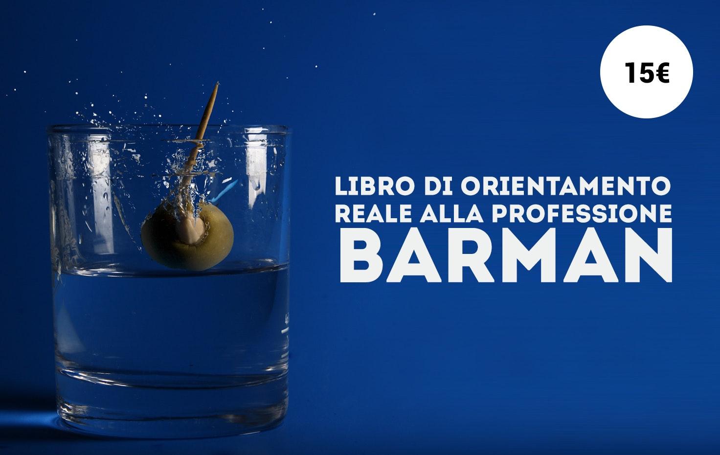 Libro di orientamento reale alla professione Barman