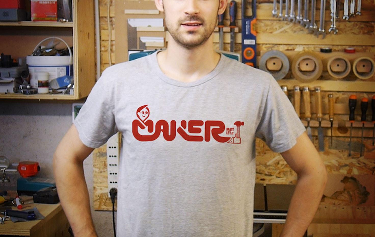 La t-shirt dei Makers