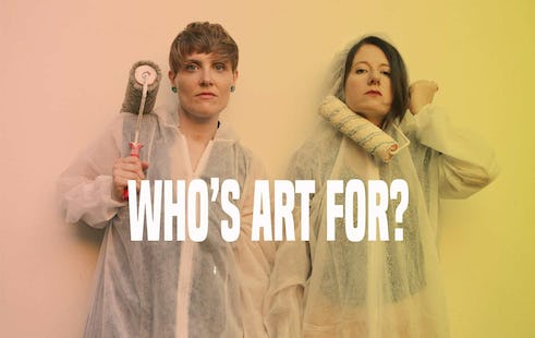 WHO'S ART FOR? Art workers against exploitation