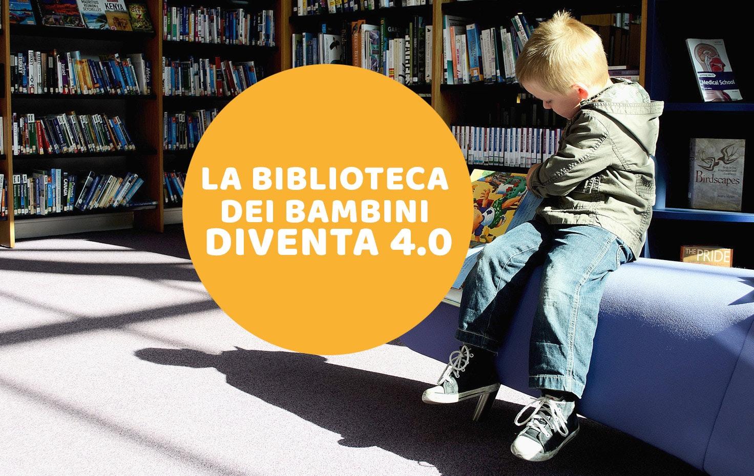 La biblioteca dei bambini diventa 4.0