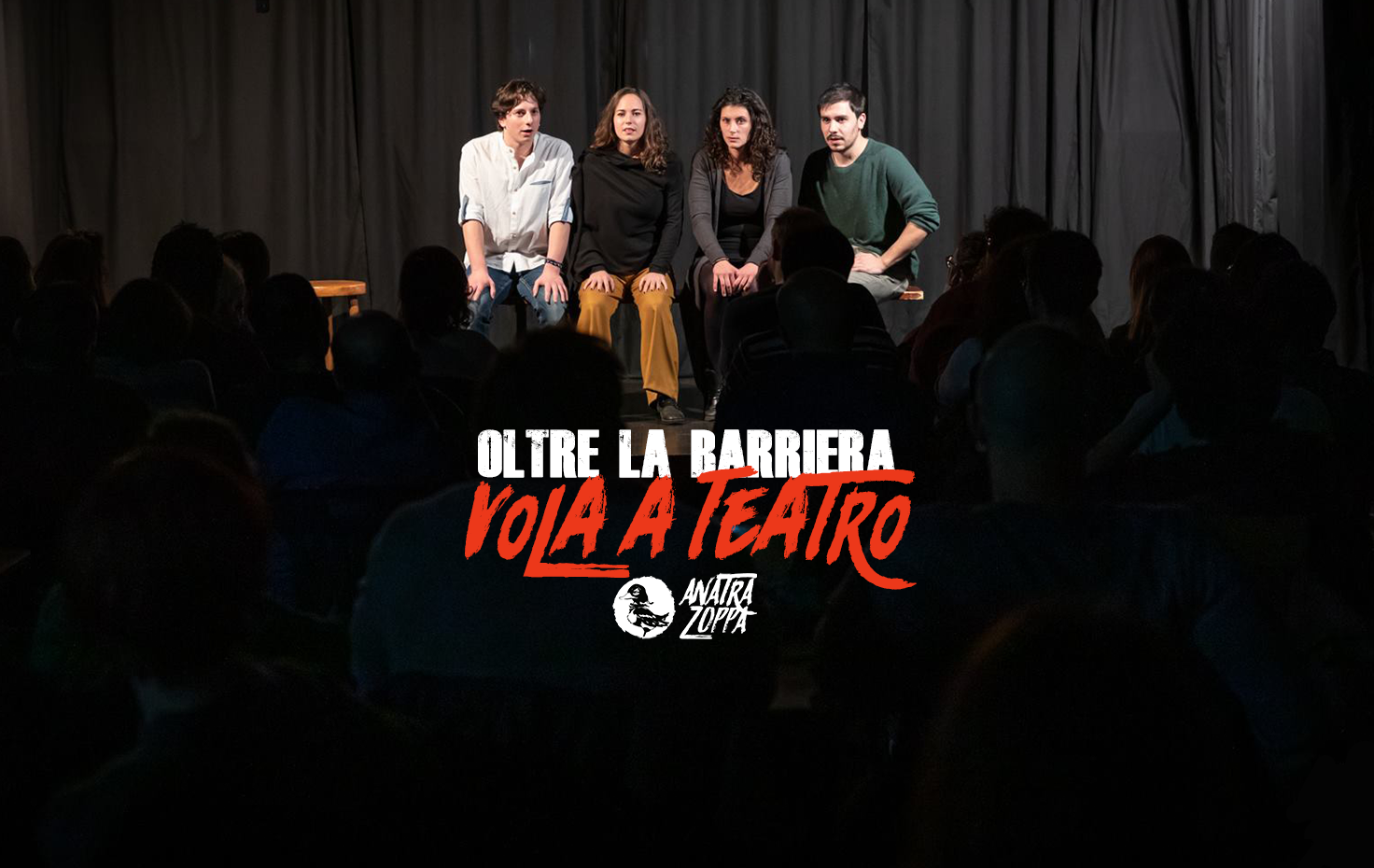 """Oltre """"La Barriera"""": vola a teatro"""