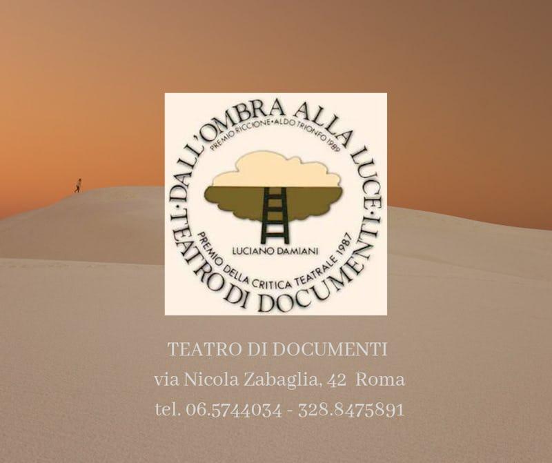 1557740439566010 teatro di documenti via nicola zabaglia 42 roma tel. 06.5744034 328.8475891