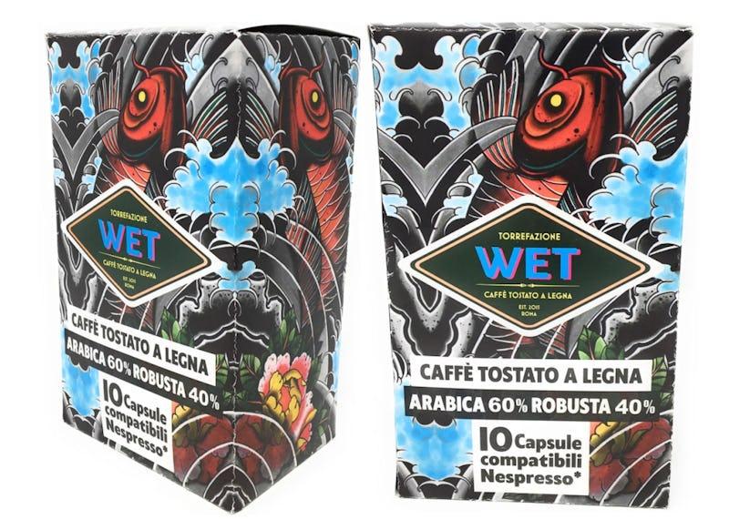 1615591446262387 capsule compatibili nespresso arabica robusta tostato a legna di ciliegio biologico compostabili riciclo bicicletta plastic free