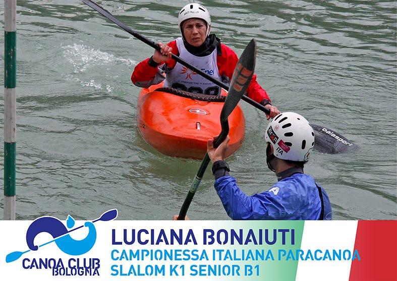 1620922947419031 7 luciana bonaiuti non vedente 8 volte campionessa italiana paracanoa slalom